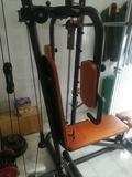 banco de pesas multi ejercicios - foto