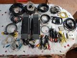 Lote Altavoces TV y Cables Sonido-Imagen - foto