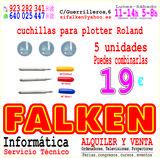 Cuchillas para Plotter Roland - foto