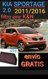 @ Kia sportage filtro aire k&n - foto
