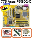 COMBO775 INTEL 3.0  2GB  PCI_E  256MB W7 - foto