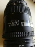 Objetivo nikon af  28-85mm - foto