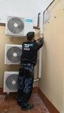 instalación,montaje,aire,inverter, vent - foto