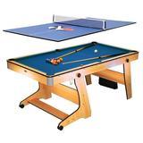 Mesa de juegos 2 en 1 Billar y ping pong - foto