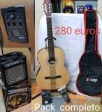 Conjunto completo de guitarras - foto
