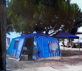 camping impermeable - foto