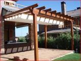 pergolas y porches de madera - foto