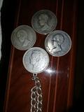 monedas de plata del siglo 19 - foto