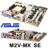 28  AM2 Asus M2V-MX SE  (2 PCI, 1 PCI-E - foto