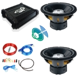 Pack car audio subwoofer jbl 2200w nuevo - foto