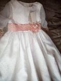 Vestido comunión. talla 115 A estrenar - foto