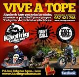 restaurante karting CABAÑAS raras - foto