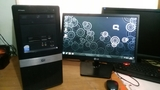 "torre quad q6600 + monitor 19\"" - foto"