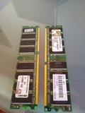 Tarjetas memoria ddr 512.. - foto