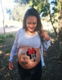 Belly painting - foto
