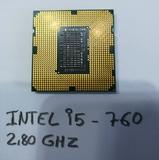 Procesador Intel. i5-760 - foto
