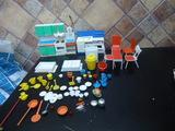 la familia hogarin cocina + accesorio, h - foto