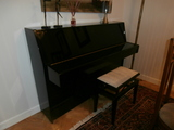 piano yamaha y  banqueta - foto