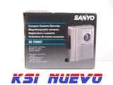 Grabadora de cassete compacta sanyo - foto