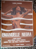 Emanuelle negra. Cartell de cine - foto