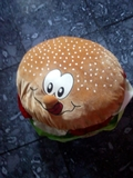 hamburguesa de peluche - foto
