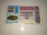 billete  loterÍa  mundial de fÚtbol 82 - foto