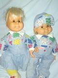 Penike y su amiga año 1990 - foto