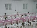 Castillos hinchables sillas mesas - foto