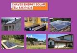 Energia con placas solares - foto