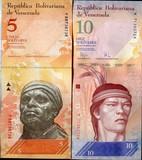 Venezuela, 2 billetes. S.C. - foto