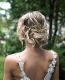 peluquera y maquilladora de novias. - foto