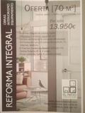 Empresa Reformas integrales oferta 70m2 - foto