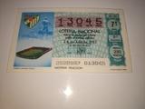 Billetes de loterÍa mundial fÚtbol 82 - foto