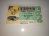 Billetes loterÍa mundial de fÚtbol 82 - foto