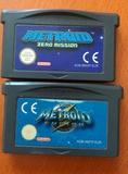 Metroid Fusion y Metroid zero PAL ESP GA - foto