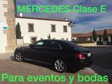 Mercedes-Benz E class para bodas eventos - foto
