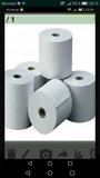4 rollos de papel termico tickets - foto