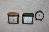 3 despertadores pequeños antiguos - foto