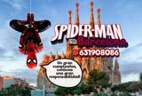 Spiderman en Barcelona desde 50 - foto