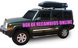 jeep commander estriberas laterales - foto