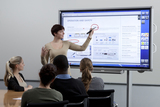 panel tactil publicitario videowall 46 - foto