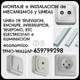 Instalacion enchufe-tv-tfno -tarancon - foto