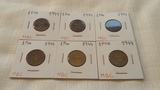 Lote monedas 1944 - foto
