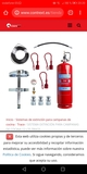 Extinción incendios campana cocina - foto