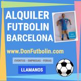 Alquiler futbolin barcelona don futbolin - foto