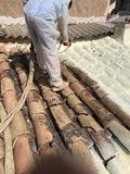Aisladores de tejados - foto