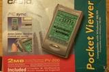 PDA CASIO RETRO POCKET VIEWER PC-200