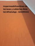 Impermeabilización en Ibiza. - foto