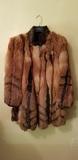 Abrigo de piel de zorro - foto