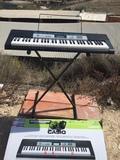 sintetizador teclado piano yamaha Casio - foto